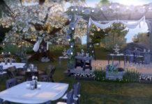 Свадебный набор Stuff Pack от Rustic для Sims 4