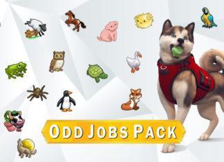 Мод «20 подработок с животными» от NerdyDoll для Sims 4