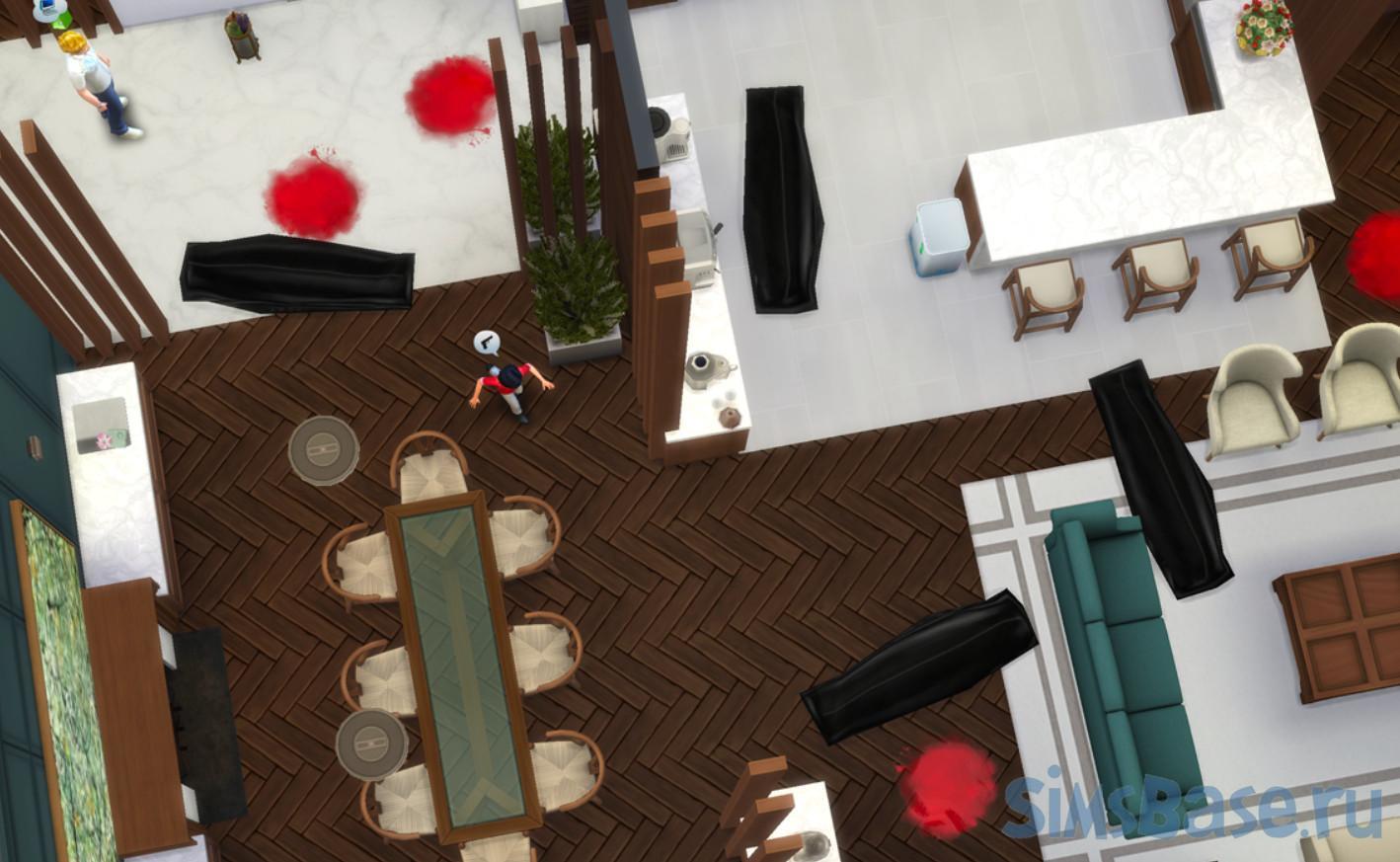 Мод «Mortem или замена Жнеца на Судмедэксперта» от simrealist для Sims 4