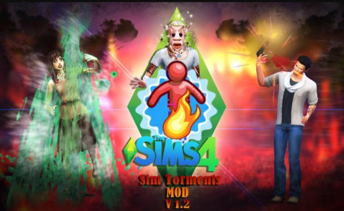 Мод «Мучения симов или SimTorments» от SACRIFICIAL для Sims 4
