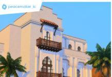 Дом «Восточная сказка» от simsationaldesigns для Sims 4
