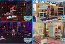 Набор мебели для подростков Teen Style Stuff от Simsi45 для Sims 4