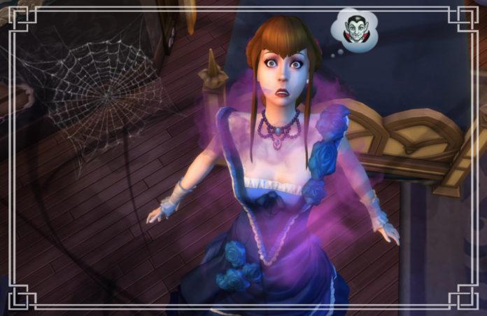 Как перестать быть вампиром в Sims 4