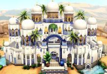 Жилой дом Оазис от SarahAmina для Sims 4