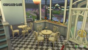 Индустриальная кондитерская от Brunnis-2 для Sims 4