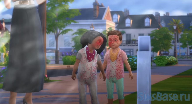 Мод «Deadly Toddlers или Смертоносный малыш» от SACRIFICIAL для Sims 4