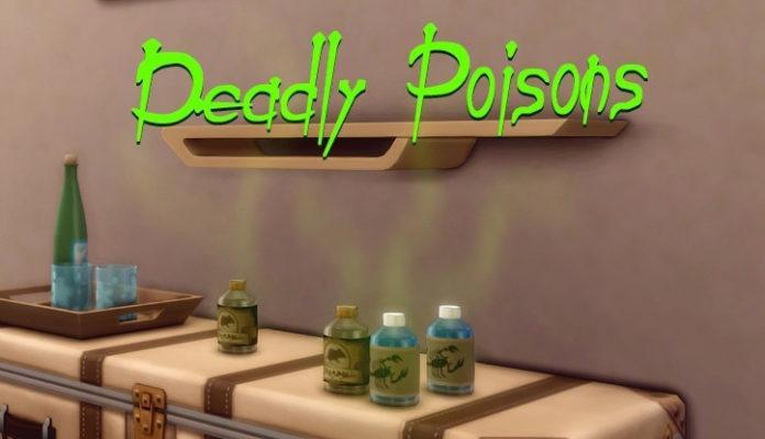 Мод «Смертельные яды или Deadly Poisons» от Andirz для Sims 4