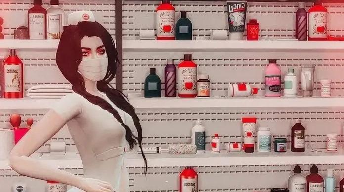 Мод «Онлайн-аптека или Purchase Medicine Overhaul» от Andirz для Sims 4
