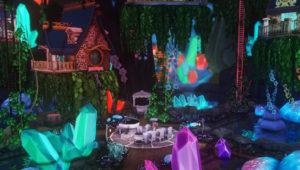 Жилой дом на дереве от miss-unfortunate для Sims 4