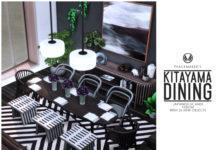 Набор мебели для столовой, кафе, ресторана от simsationaldesigns для Sims 4