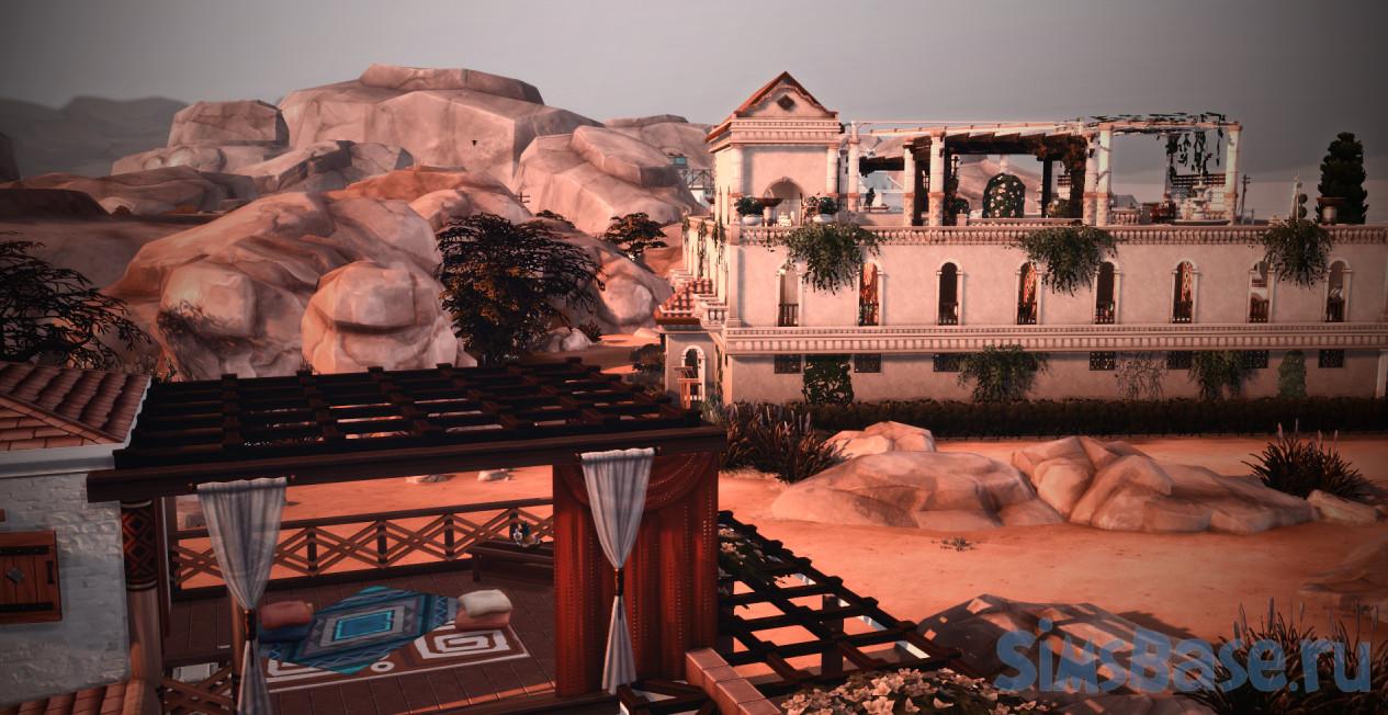 Набор СС и файл сохранения Древняя Греция от plasma-jane для Sims 4