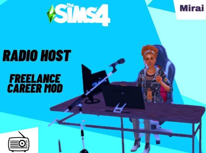 Мод «Открытая карьера – Радиоведущий» от mirai для Sims 4