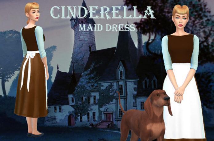 Набор костюмов принцесс Диснея от Stardust для Sims 4