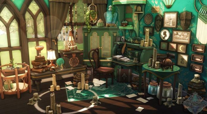 Комнаты и декор от SatiSim для Sims 4