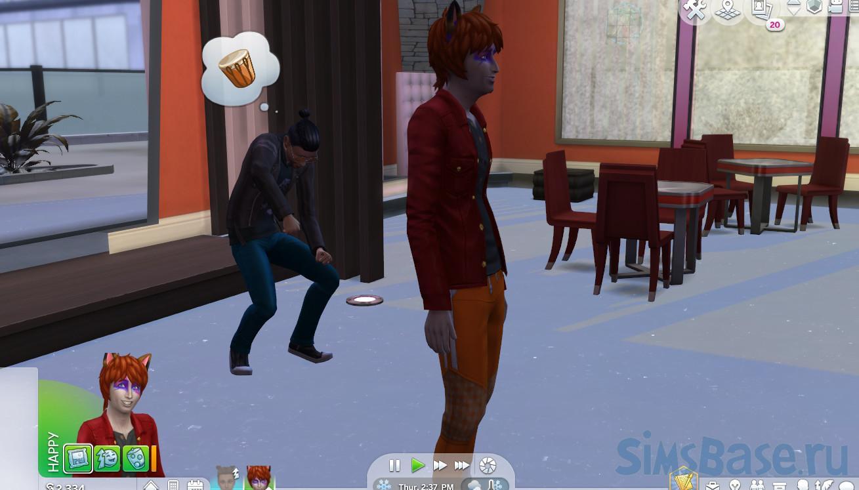 Мод «Рабы вампиров» от triplis для Sims 4