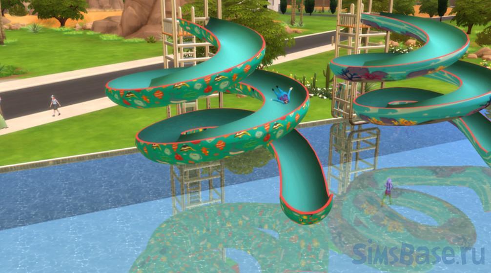 Мод «Функциональные объекты для пляжей Сулани» от waaroonk для Sims 4