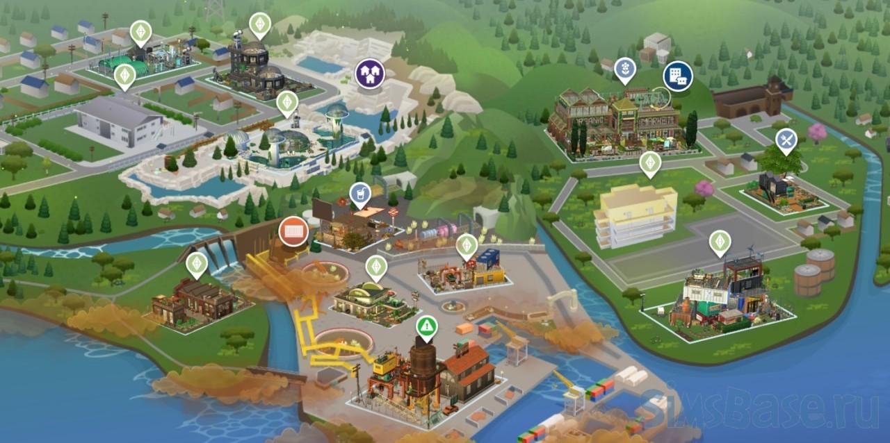 Новый мир фентези сохранение от rethasim для Sims 4