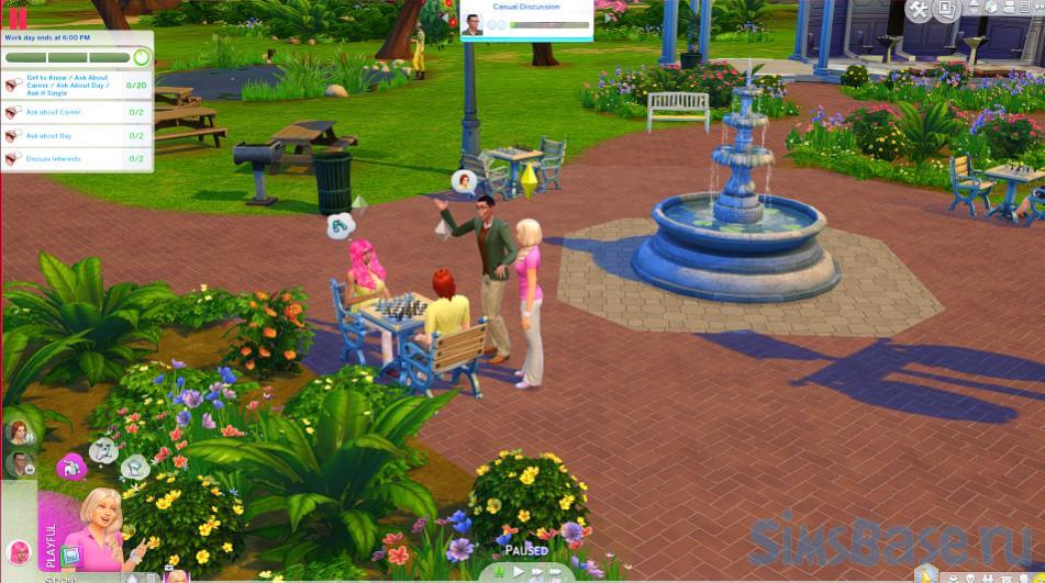 Мод «Открытые карьеры или Turbo Careers» от Zero для Sims 4