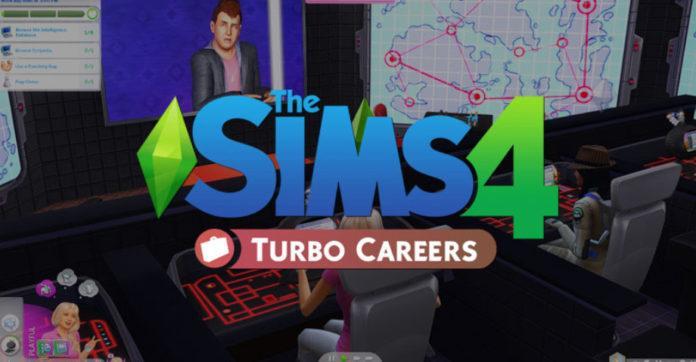 Мод «Открытые карьеры или Turbo Careers» от zerbu для Sims 4