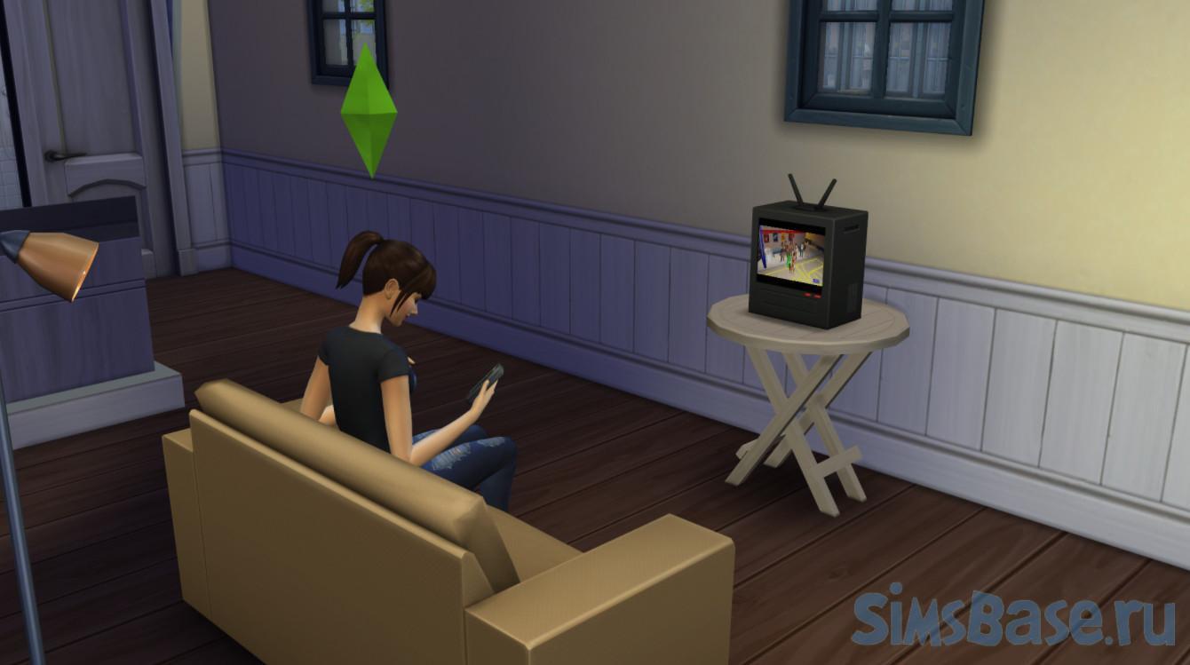 Мод «Меньшая одержимость автономными действиями» от Vicky Sims для Sims 4