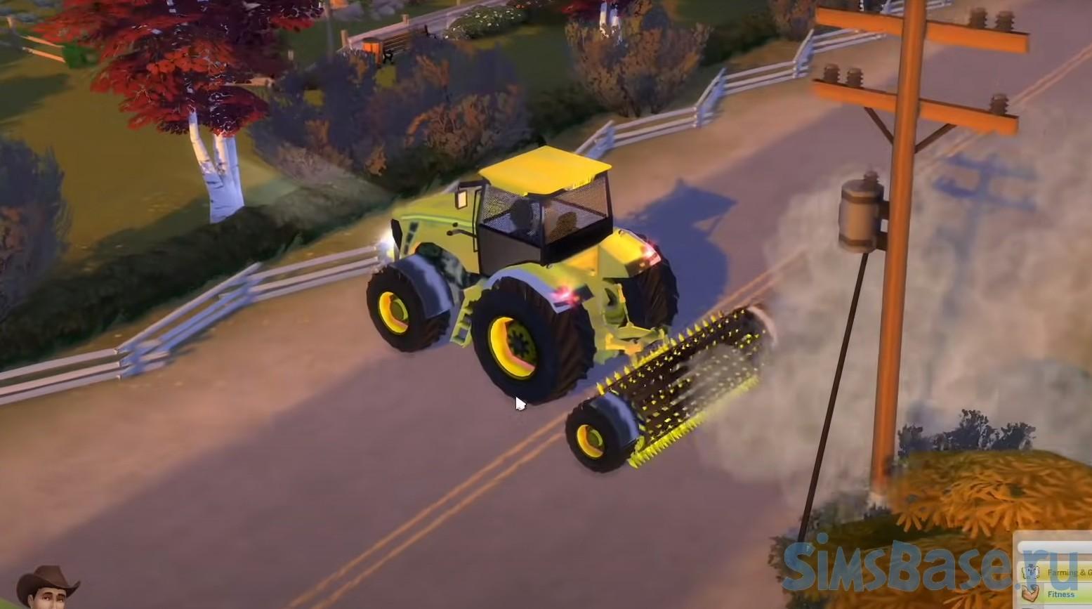 Мод «Фермерский город – сюжет, мир, дополнение для Загородной жизни» от Arnie для Sims 4