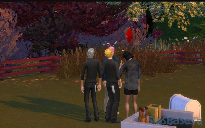 Мод «Глобальное изменение поведения симов или Sim Spawn Overhaul» от Lotharihoe для Sims 4