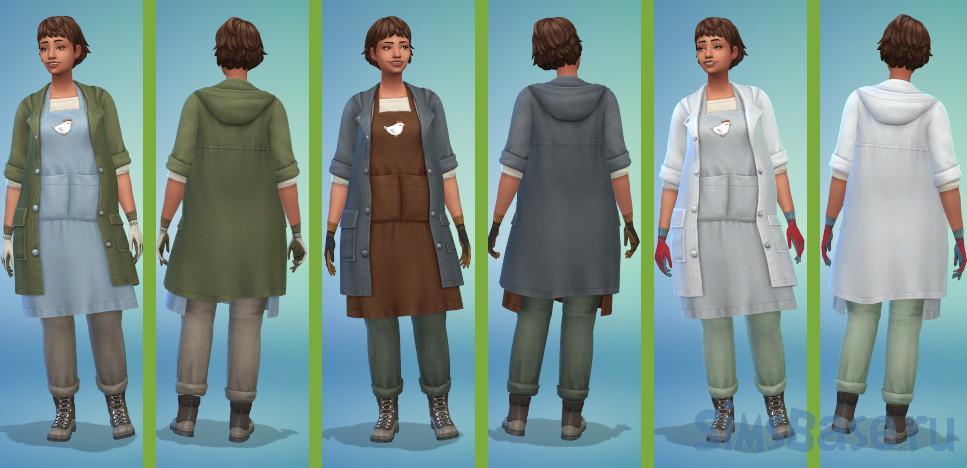 Мод «Наемные рабочие на ферме» от siriussimmer для Sims 4