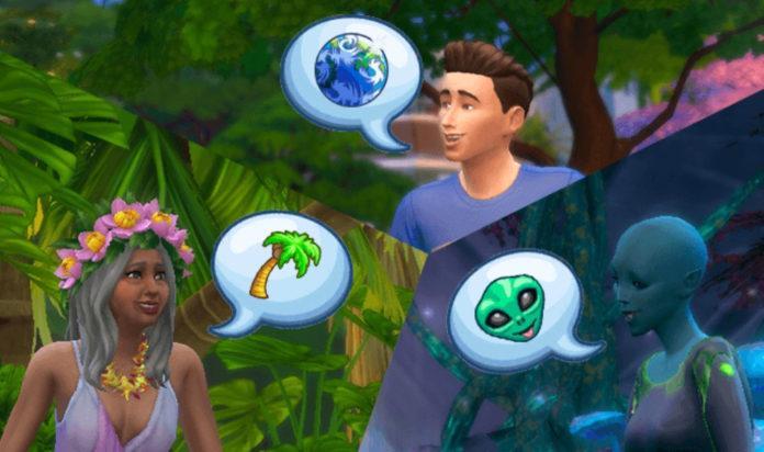 Мод «В каждом мире свой язык общения или Language Barriers» от frankk для Sims 4