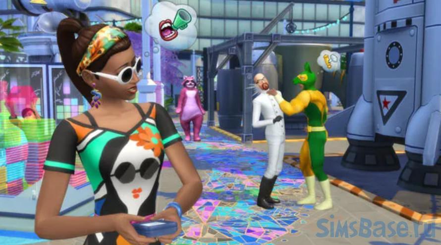 Мод «Знаменитости: слухи, сплетни, скандалы или Celebrity System» от Kiara для Sims 4
