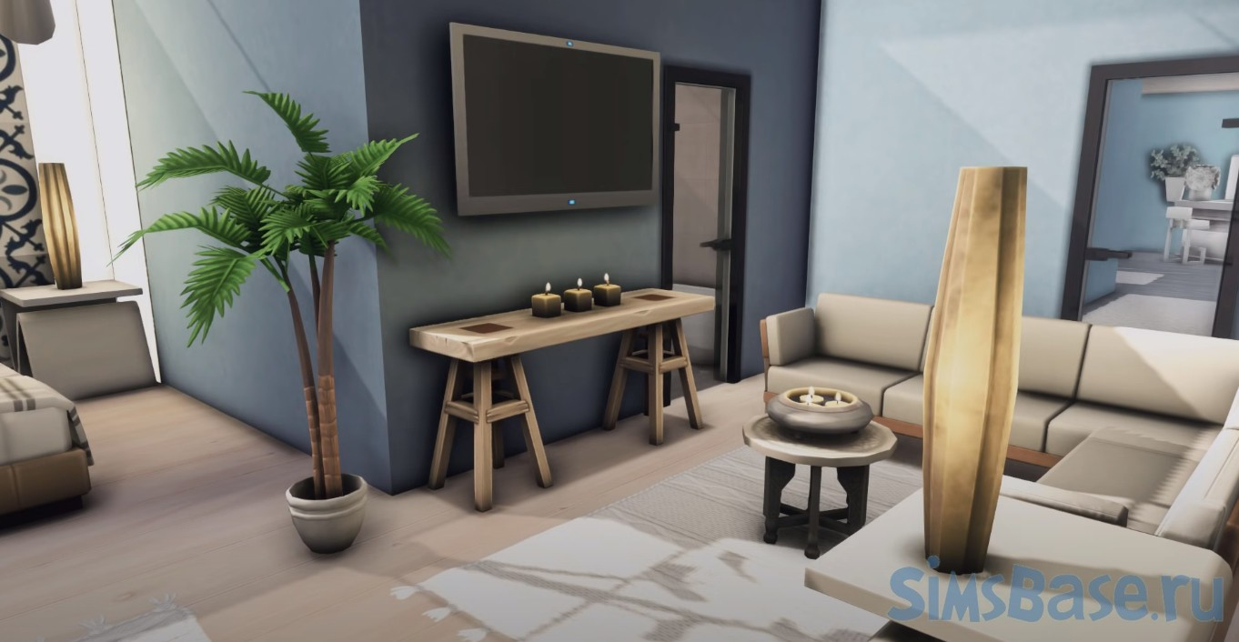 Жило дом «Под водой» от Kate Emerald для Sims 4