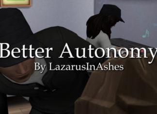 Мод «Улучшенная автономность или Better Autonomy» от lazarusinashes для Sims 4