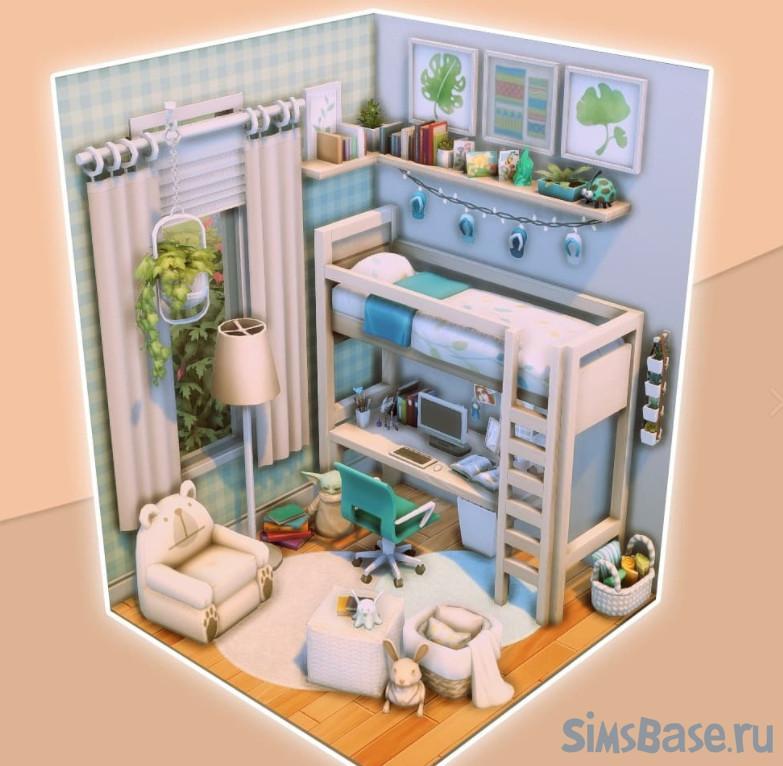 Набор комнат с платформами от amalieesims для Sims 4