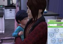 Мод «Новая система детских достоинств характера или Character Values Overhaul» от tyjokr для Sims 4