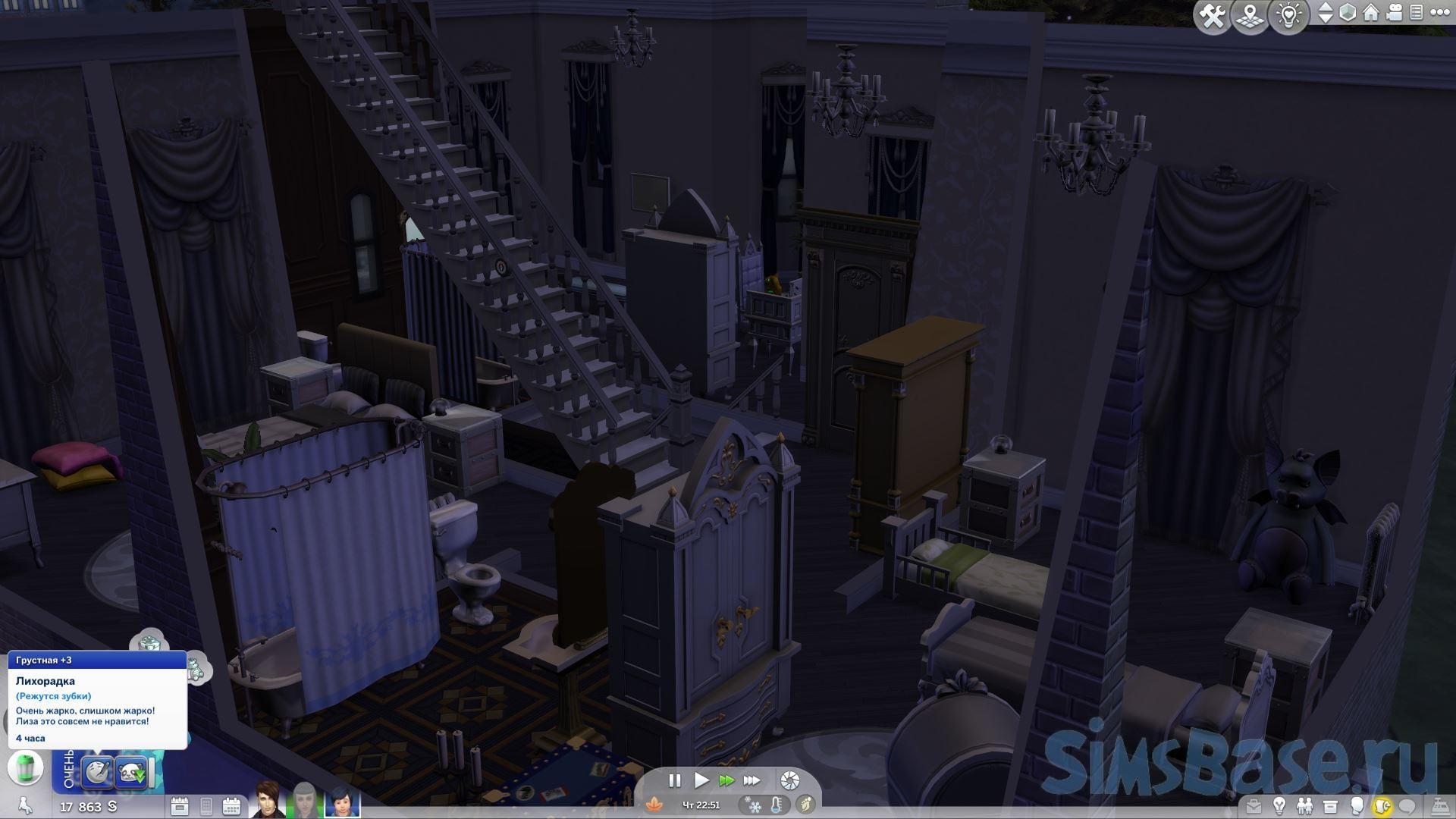 Мод «Уход за зубами или Dental Care Mod» от adeepindigo для Sims 4