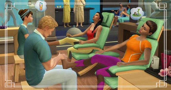 Sims 4 День спа: подробный взгляд на неочевидное обновление