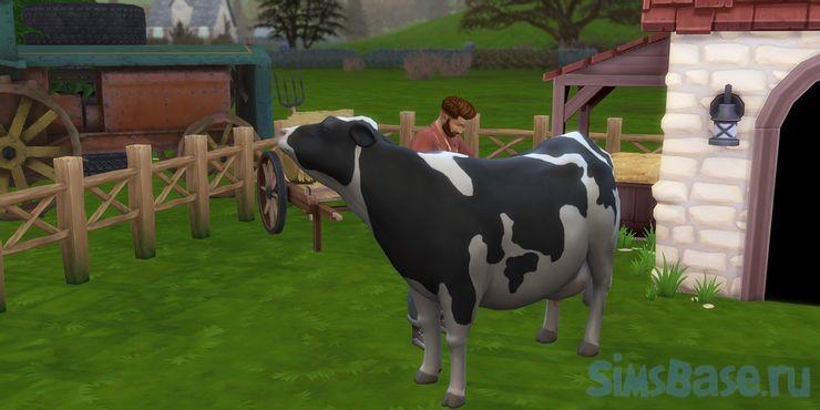 Мод Фермерский город Farmland против Sims 4 Загородная жизнь