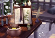 Набор мистического декора от Magnolian для Sims 4