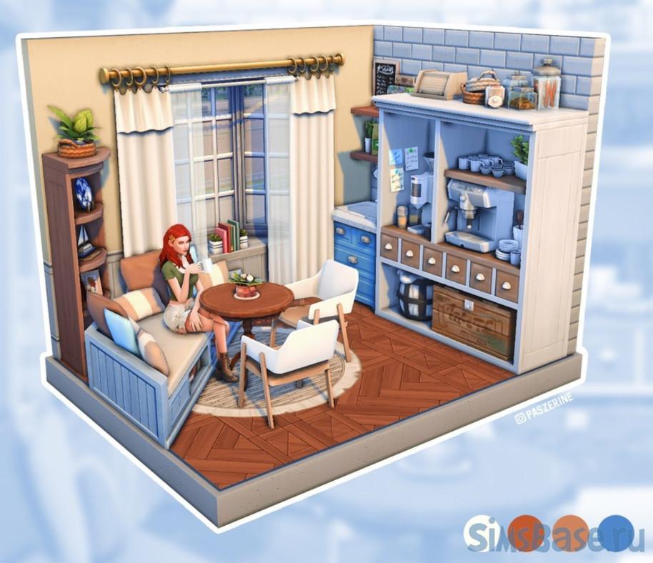 Набор комнат для молодёжи от paszerine для Sims 4