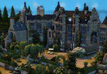 Замок MACDUFF от moonlightowl для Sims 4