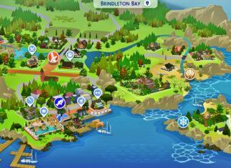 Полная застройка Бриндлтон-Бэй от Nusantra Simmer для Sims 4
