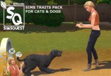 Мод «Черты характера на отношение к животным» от Ilkavelle для Sims 4