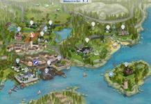 Большое сохранение «Мир кино» от AFEVINA для Sims 4